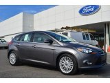 2014 Sterling Gray Ford Focus Titanium Hatchback #85698331