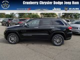 2014 Black Forest Green Pearl Jeep Grand Cherokee Limited 4x4 #85698233