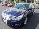 2013 Pacific Blue Pearl Hyundai Sonata SE #85698114