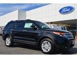 2014 Tuxedo Black Ford Explorer XLT #85698330