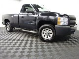2008 Black Chevrolet Silverado 1500 LT Regular Cab 4x4 #85698533