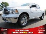 2014 Bright White Ram 1500 Big Horn Crew Cab #85698309