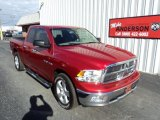 2010 Inferno Red Crystal Pearl Dodge Ram 1500 Big Horn Quad Cab 4x4 #85698712