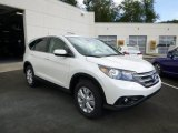 2014 White Diamond Pearl Honda CR-V EX AWD #85698605