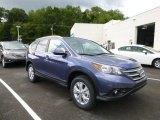 2014 Twilight Blue Metallic Honda CR-V EX-L AWD #85698598