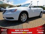 2014 Bright White Chrysler 200 Touring Convertible #85698279