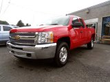 2013 Victory Red Chevrolet Silverado 1500 LT Extended Cab 4x4 #85698079