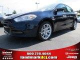 2013 True Blue Pearl Coat Dodge Dart SXT #85698275