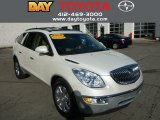 2008 White Diamond Tri Coat Buick Enclave CXL AWD #85698078