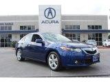 2010 Vortex Blue Pearl Acura TSX Sedan #85698008