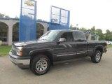2005 Dark Gray Metallic Chevrolet Silverado 1500 Z71 Extended Cab 4x4 #85698208