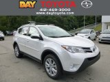 2013 Blizzard White Pearl Toyota RAV4 Limited AWD #85698073