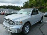 2014 Bright Silver Metallic Ram 1500 Big Horn Quad Cab 4x4 #85698506