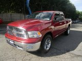 2012 Deep Cherry Red Crystal Pearl Dodge Ram 1500 SLT Quad Cab 4x4 #85698502