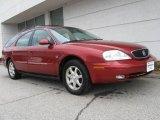 2000 Toreador Red Metallic Mercury Sable LS Premium Wagon #8540647