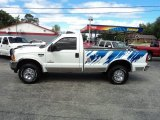 2004 Oxford White Ford F250 Super Duty XL Regular Cab 4x4 #85698574