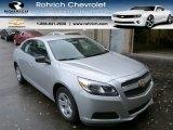 2013 Silver Ice Metallic Chevrolet Malibu LS #85698669
