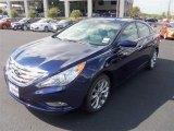 2013 Indigo Night Blue Hyundai Sonata SE #85698152