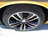 2012 Dodge Challenger SRT8 Yellow Jacket Wheel