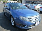 2010 Sport Blue Metallic Ford Fusion Sport #85744749