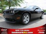 2013 Pitch Black Dodge Challenger R/T #85744789