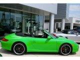 2008 Green Paint to Sample Porsche 911 Carrera S Cabriolet #854874
