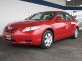 2008 Barcelona Red Metallic Toyota Camry LE #8540388