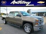 2014 Brownstone Metallic Chevrolet Silverado 1500 LT Crew Cab 4x4 #85744971