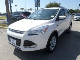 2014 White Platinum Ford Escape Titanium 1.6L EcoBoost #85744737