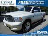 2012 Bright White Dodge Ram 1500 Laramie Longhorn Crew Cab 4x4 #85744917