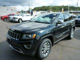 2014 Brilliant Black Crystal Pearl Jeep Grand Cherokee Limited 4x4 #85744852