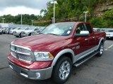 2014 Deep Cherry Red Crystal Pearl Ram 1500 Laramie Quad Cab 4x4 #85744850