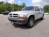 2003 Bright Silver Metallic Dodge Dakota SXT Club Cab #85744727