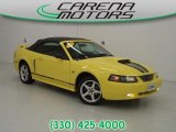 2003 Zinc Yellow Ford Mustang GT Convertible #85767155