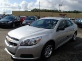2013 Silver Ice Metallic Chevrolet Malibu LS #85777586