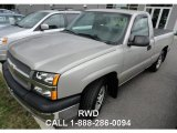 2004 Silver Birch Metallic Chevrolet Silverado 1500 Regular Cab #85777727