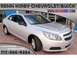 2013 Silver Ice Metallic Chevrolet Malibu LS #85777681