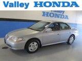 2002 Satin Silver Metallic Honda Accord EX V6 Sedan #85777486