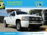 2008 Summit White Chevrolet Silverado 1500 LT Extended Cab #85777526