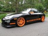 2007 Black/Orange Porsche 911 GT3 RS #85777520