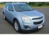 2014 Silver Topaz Metallic Chevrolet Equinox LS #85777752
