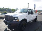 2004 Oxford White Ford F250 Super Duty XL SuperCab 4x4 #85777594