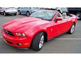 2011 Race Red Ford Mustang V6 Premium Convertible #85804150