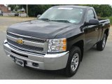 2012 Black Chevrolet Silverado 1500 LS Regular Cab 4x4 #85804524