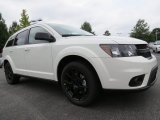 White Dodge Journey in 2014