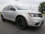 Bright Silver Metallic Dodge Journey in 2014