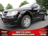2014 Pitch Black Dodge Journey Amercian Value Package #85804223