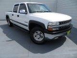 2002 Summit White Chevrolet Silverado 1500 LS Crew Cab #85804320