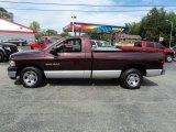 2004 Deep Molten Red Pearl Dodge Ram 1500 ST Regular Cab #85804509