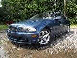 2002 Topaz Blue Metallic BMW 3 Series 325i Coupe #85804312